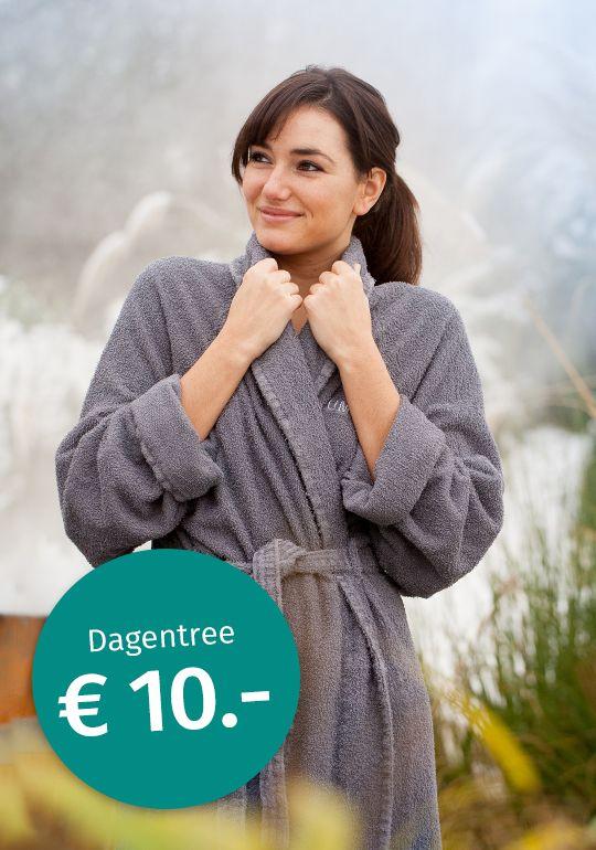 10 euro voor een dagje winter wellness/sauna