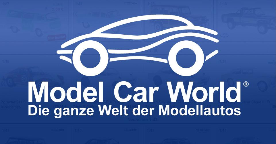 30% korting op geselecteerde modelauto's @ModelCarWorld
