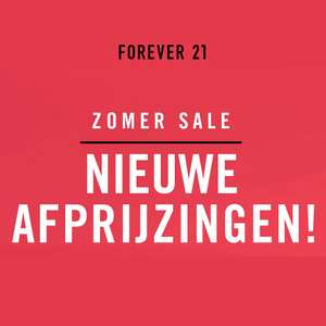 S A L E @ Forever21 - tot 75% korting op fashion voor dames & heren