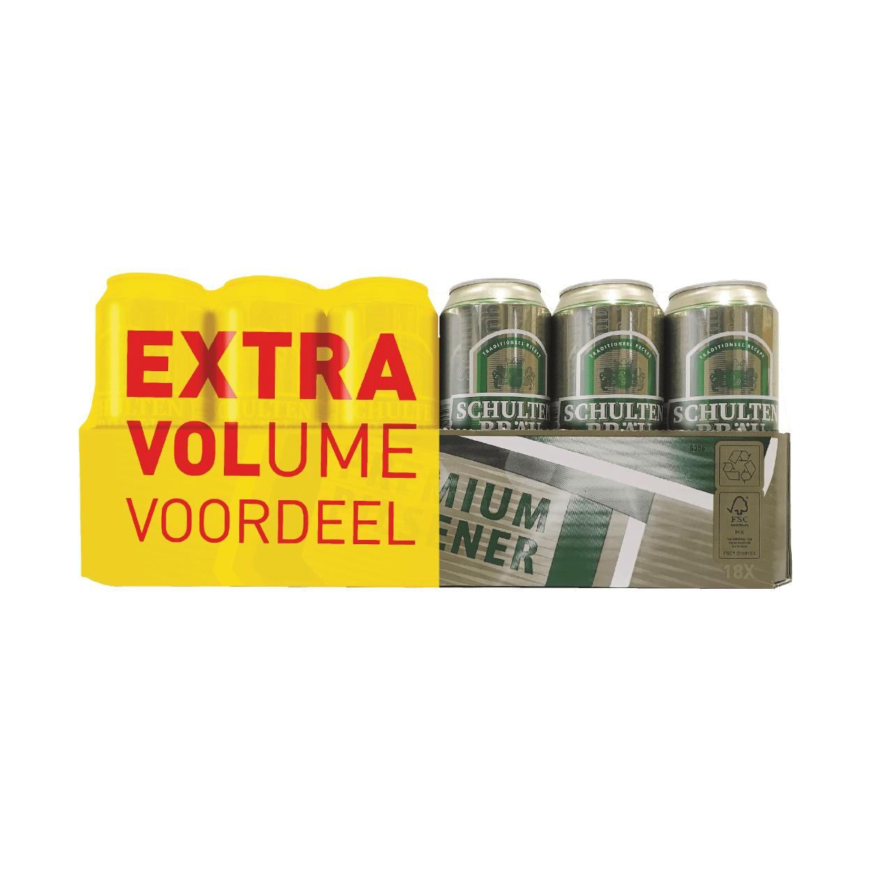 Schultenbräu pils voor €6.99 (18 x 50 cl) @ Aldi