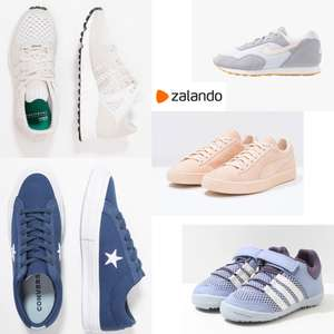 Veel sneakers (o.a. adidas, Nike, Converse) 60% korting @ Zalando
