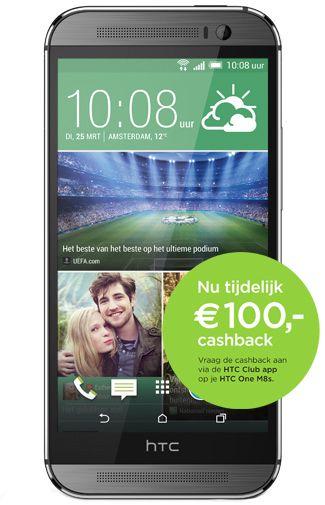 HTC One M8s voor €275,99 (na cashback) i.c.m. Simyo abonnement @ Belsimpel