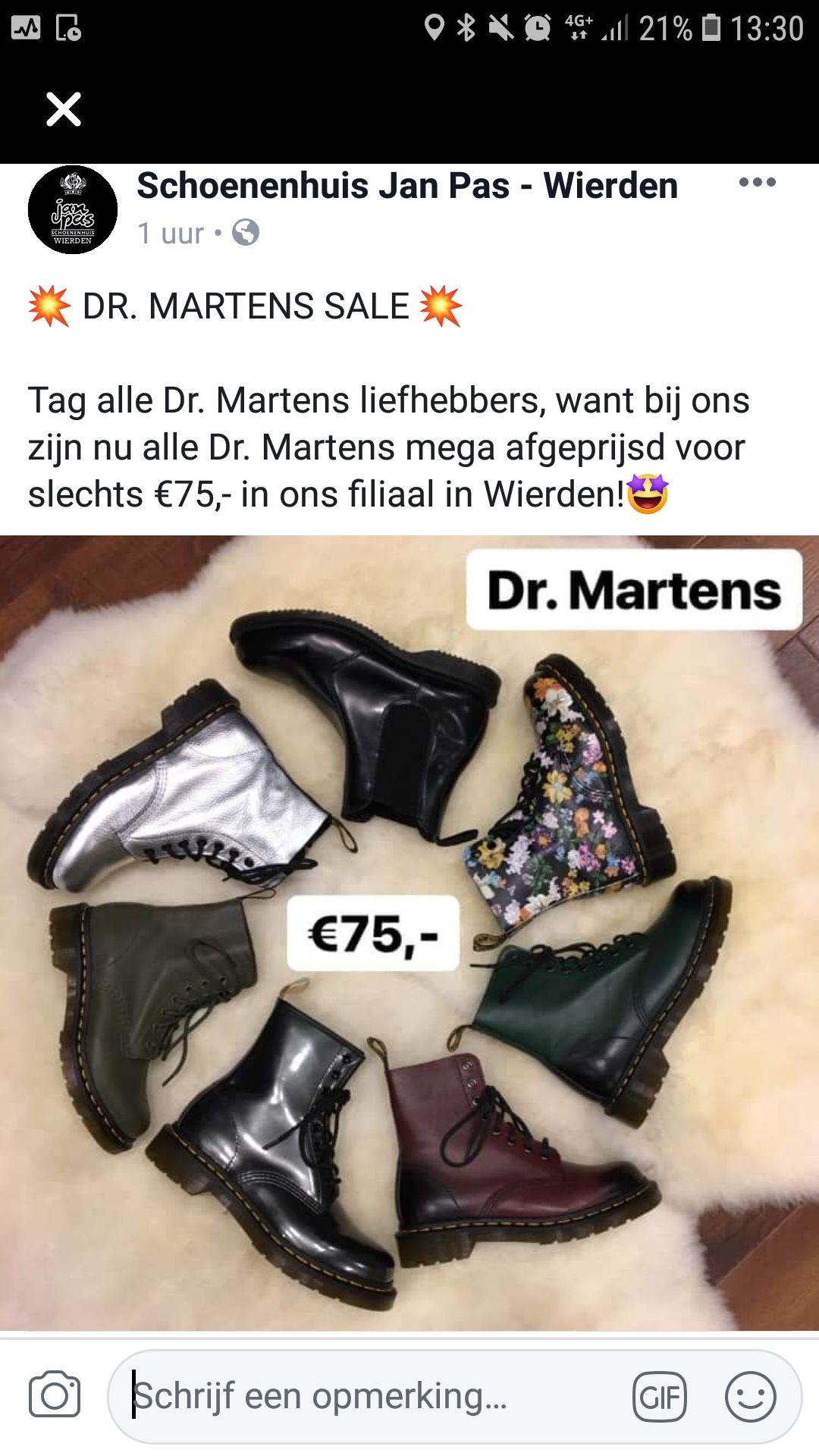 [lokaal - Wierden] Dr martens