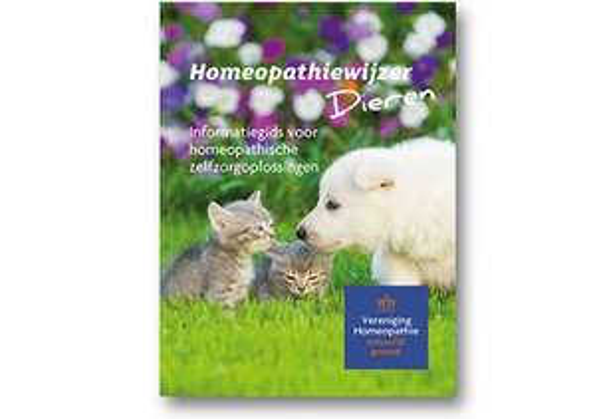 Gratis Homeopathiewijzer voor dieren (t.w.v. €4,95) @ Vereniging Homeopathie