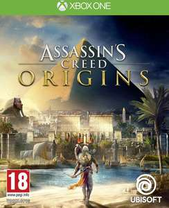 Flits Deal: Assassin's creed origins Xbox one en PS4 en meer Ubisoft games in de aanbieding