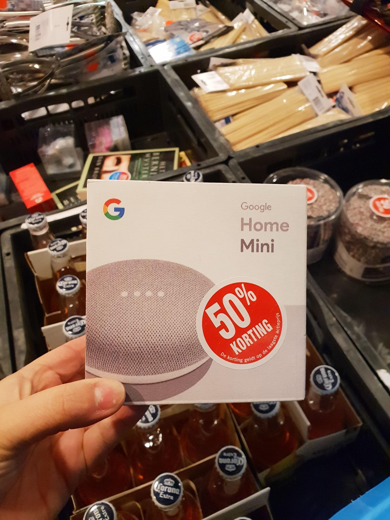 Google home mini voor 28.99 euro