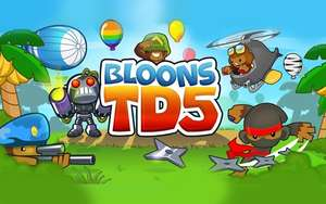 Gratis game Bloons Tower Defense 5 (iOS) t.w.v. €4,99 @ IGN