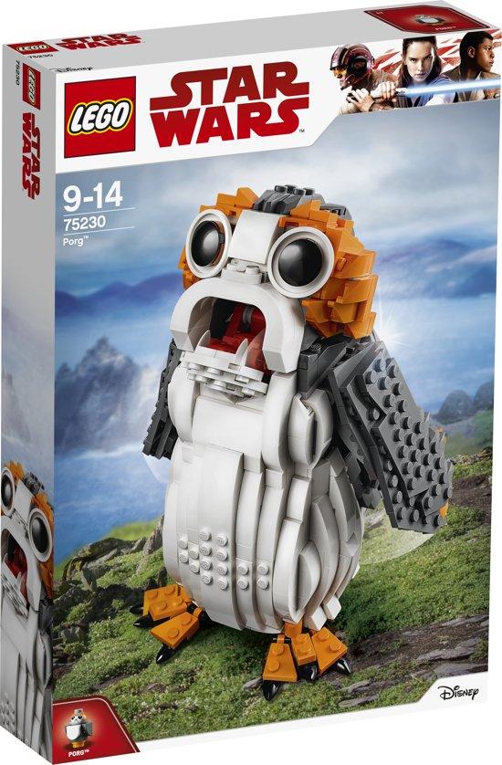 Lego Star Wars Porg nu €47,99 ipv €79,99