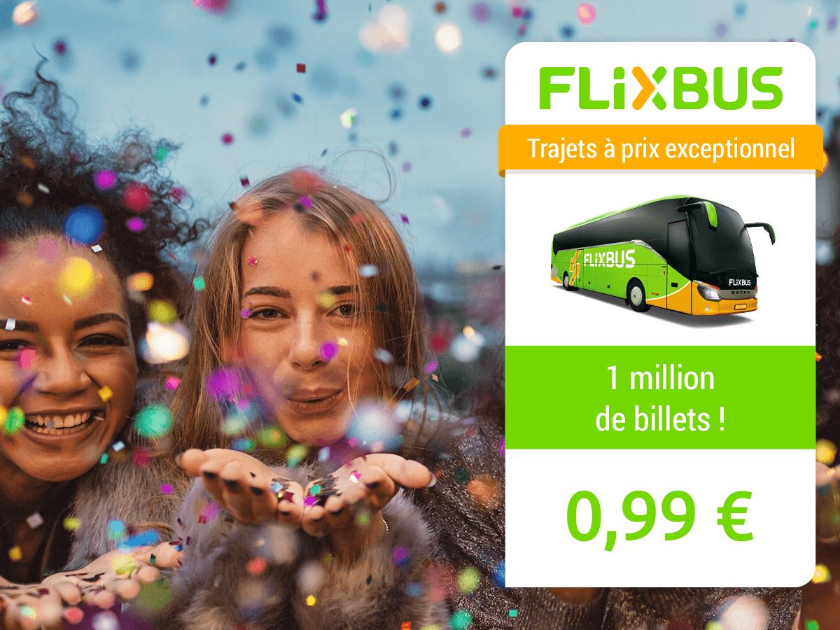 1 miljoen Franse bustickets voor €0,99