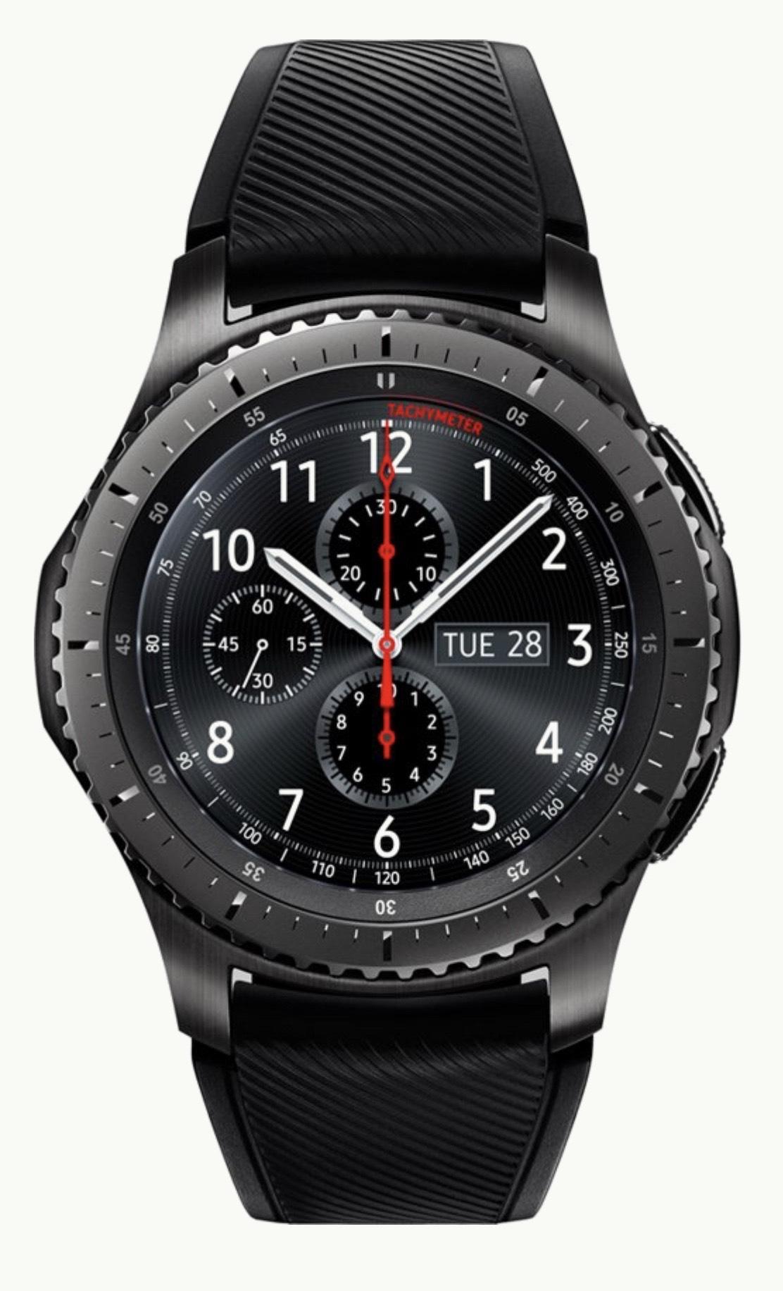 Dagdeal: Samsung Gear S3 Frontier smartwatch