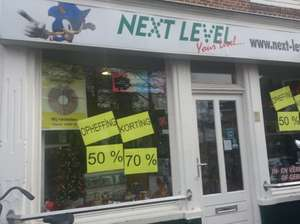 Next-Level Amersfoort - Games Opheffinguitverkoop, tot 70% korting