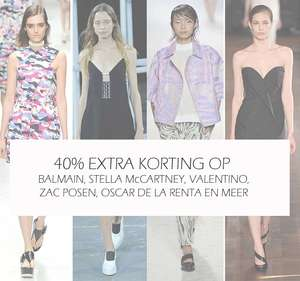40% EXTRA korting op designer fashion @ The Outnet