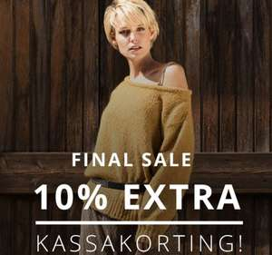 FINAL SALE (t/m 60%) + 10% extra korting @ Perfectly Basics