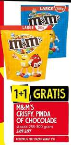 Jan Linders: M&M's 1+1 gratis