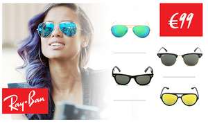 Ray-Ban sale - alle modellen €99 @ Westwing