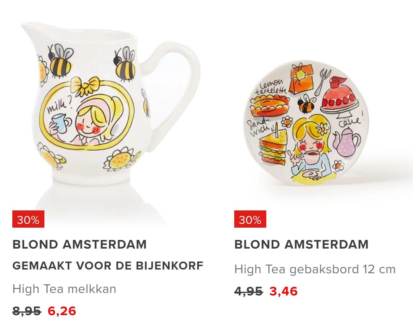 30% korting op Blond Amsterdam - Bijenkorf collectie + gratis verzending @Bijenkorf
