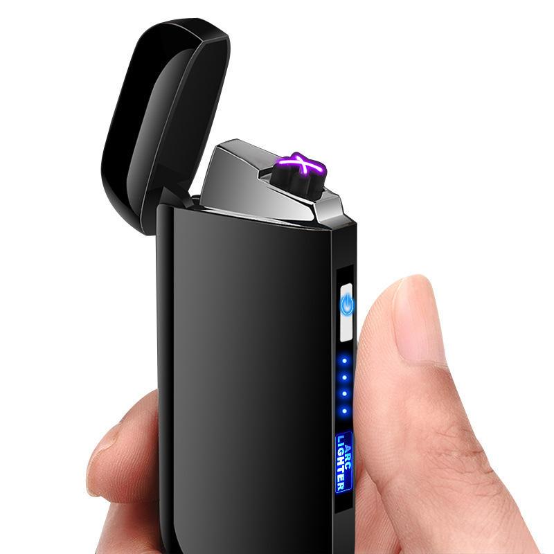 KCASA LED Elektronische aansteker oplaadbaar en windproof 48% korting