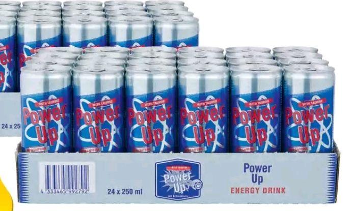 Powerup energiedrank  48 blikjes @ Makro
