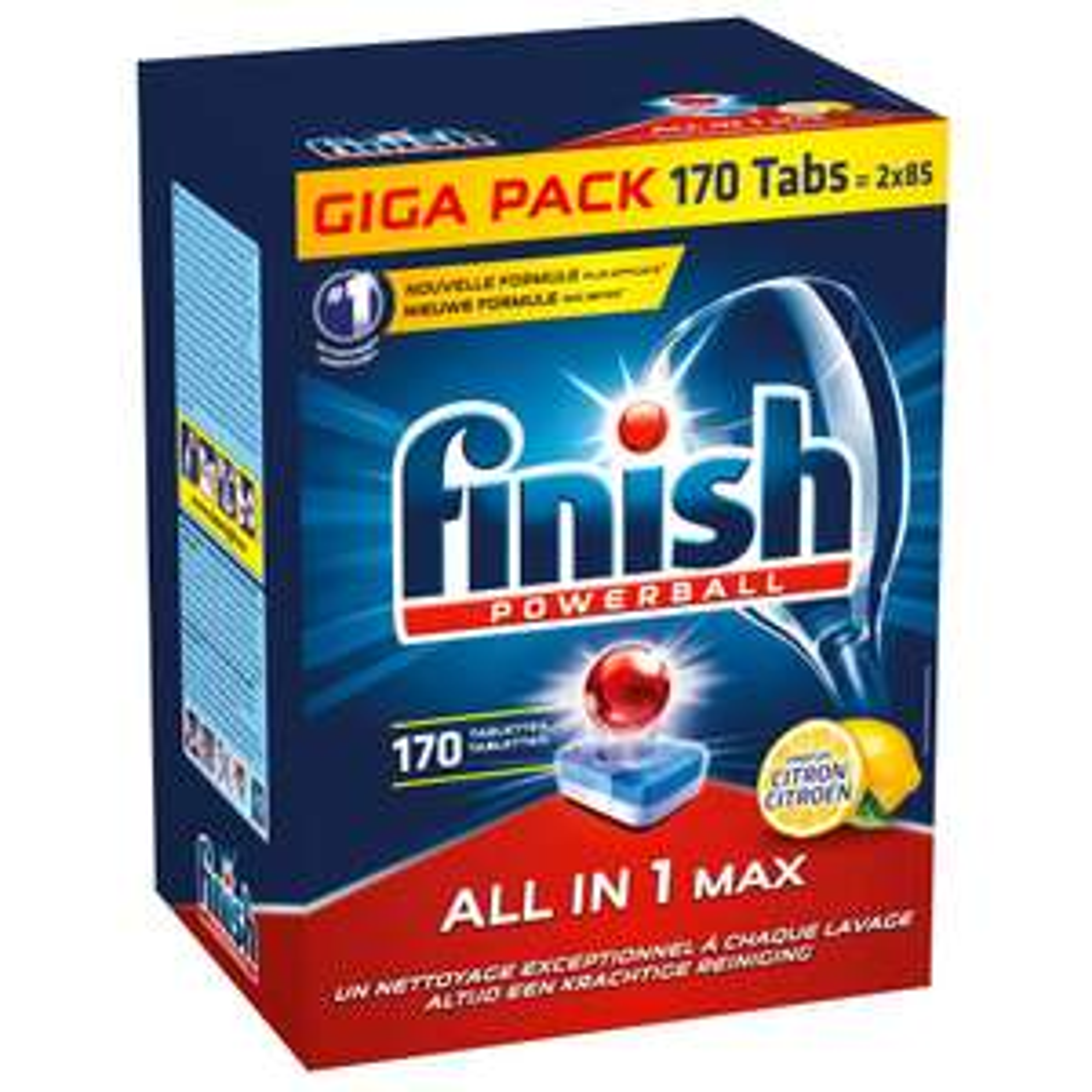 Makro Finish all-in-1 170 tabletten voor maar €9.99!