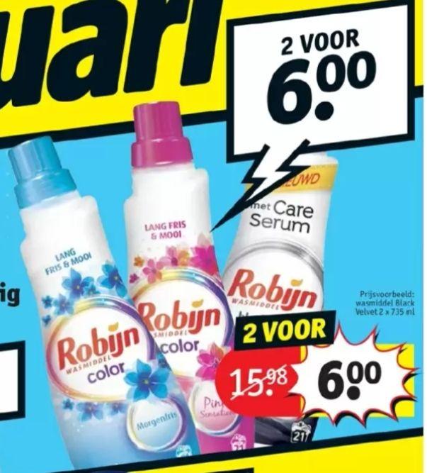 @Kruidvat, Robijn wasmiddel, wasverzachter