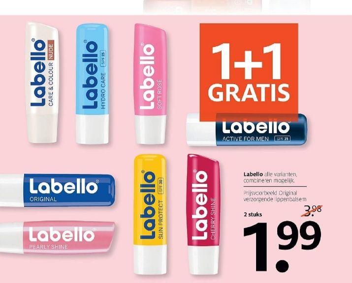 @Etos, 1+1 gratis op labello