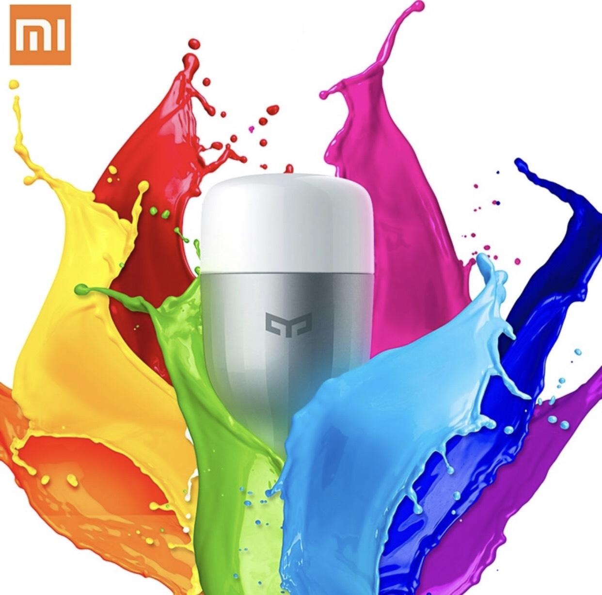 XiaoMi Yeelight Kleurrijke Lamp E27 1th
