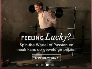 Verdien Passion Points of win leuke prijzen in de Hunkemöller app!