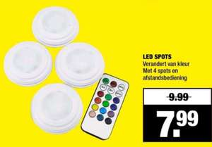 4 LED SPOTS     (Big Bazar)