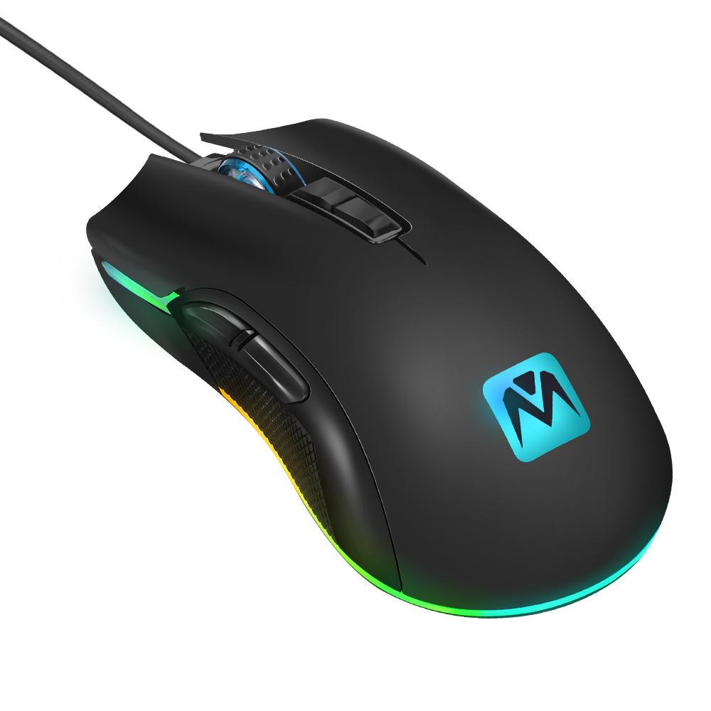 MantisTek GM2 3500DPI RGB Gaming muis