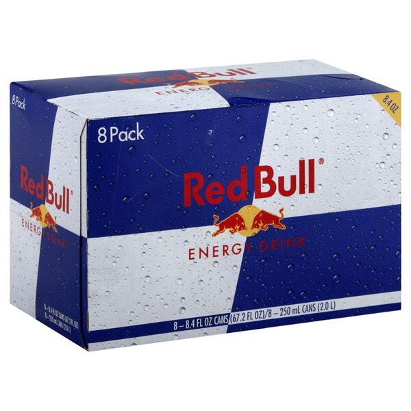8-pack Red Bull voor 7,49 bij Action