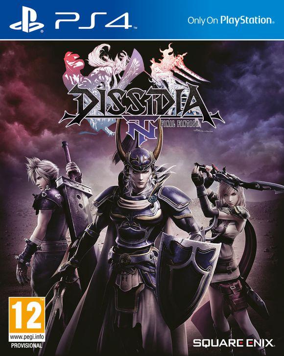 Dissidia Final Fantasy NT voor PS4 €10,50 incl. verzenden