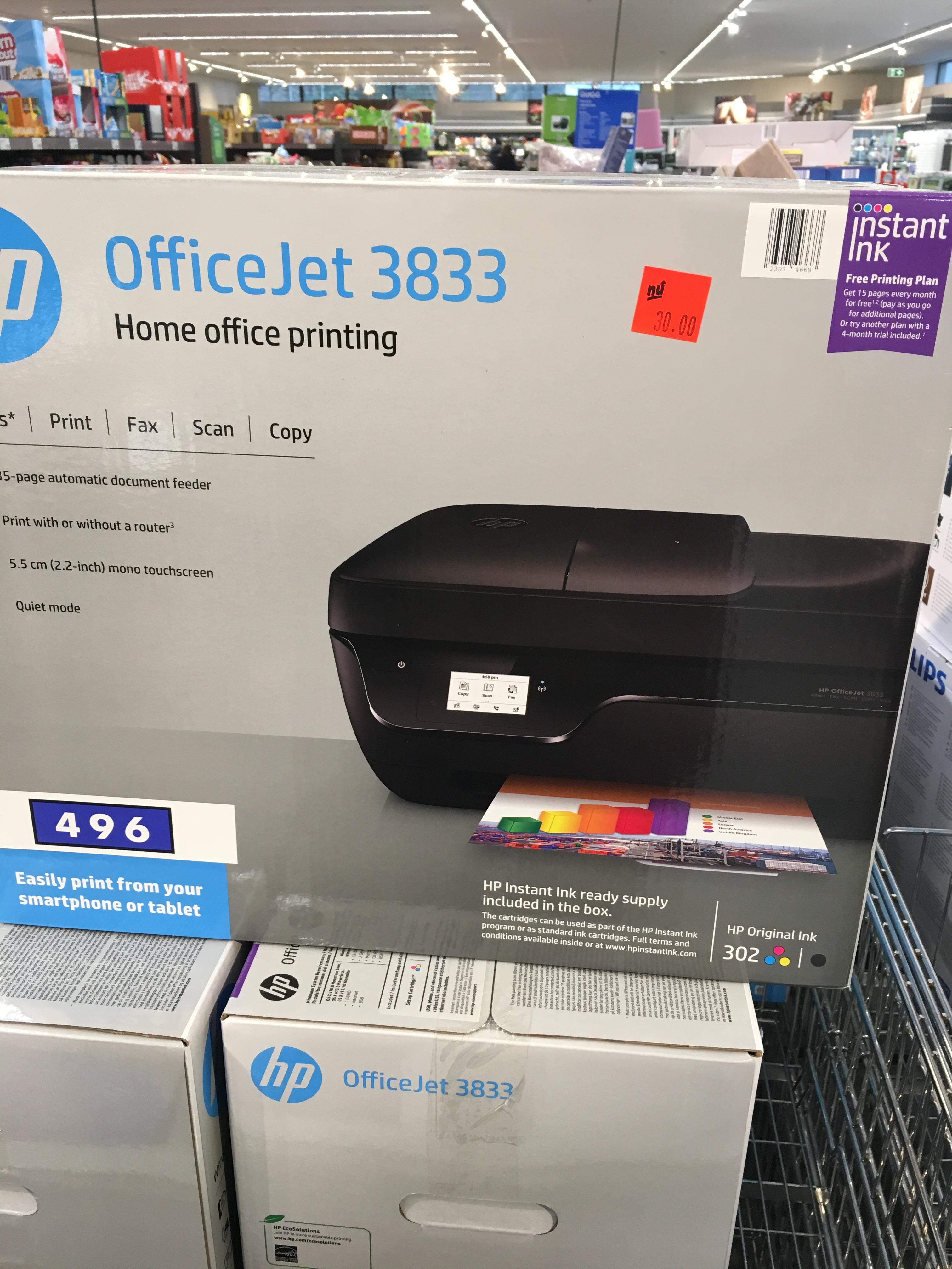 HP OfficeJet 3833 bij Aldi Tilburg Paletplein