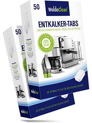 Flashdeal: 100 stuks ontkalk-tabletten voor koffieautomaten en koffiezetapparaten @ Amazon.de