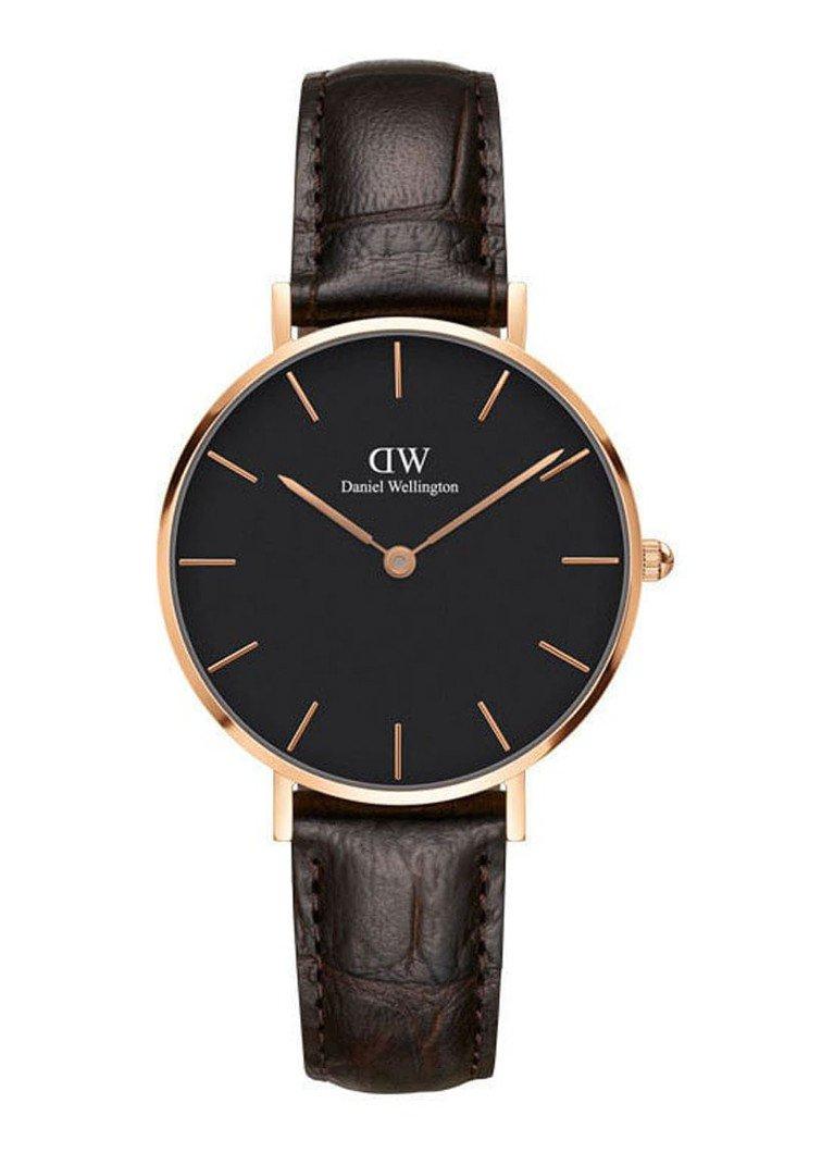 Daniel Wellington Petite Melrose York horloge DW00100170 voor €49,50 @ de Bijenkorf