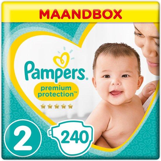 Pampers Premium Protection - Maat 2 - Maandbox 240 Stuks