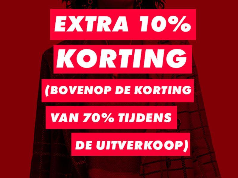 Met code 10% extra korting @ ASOS