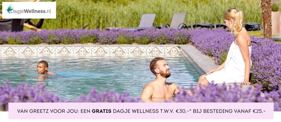 Dagje wellness cadeau bij besteding vanaf €25,- @Greetz
