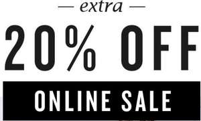 Laatste dag: 20% extra korting op sale @ America Today