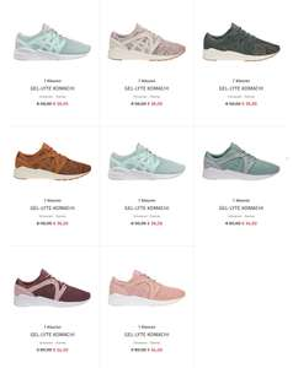 Asics Gel Lyte Komachi sneakers - met code €30,60 / €32,40 @ Asics
