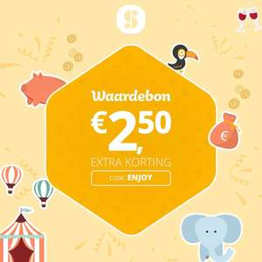 €2,50 Korting In App @ SocialDeal