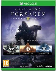 Destiny 2 forsaken legendary edition xbox one