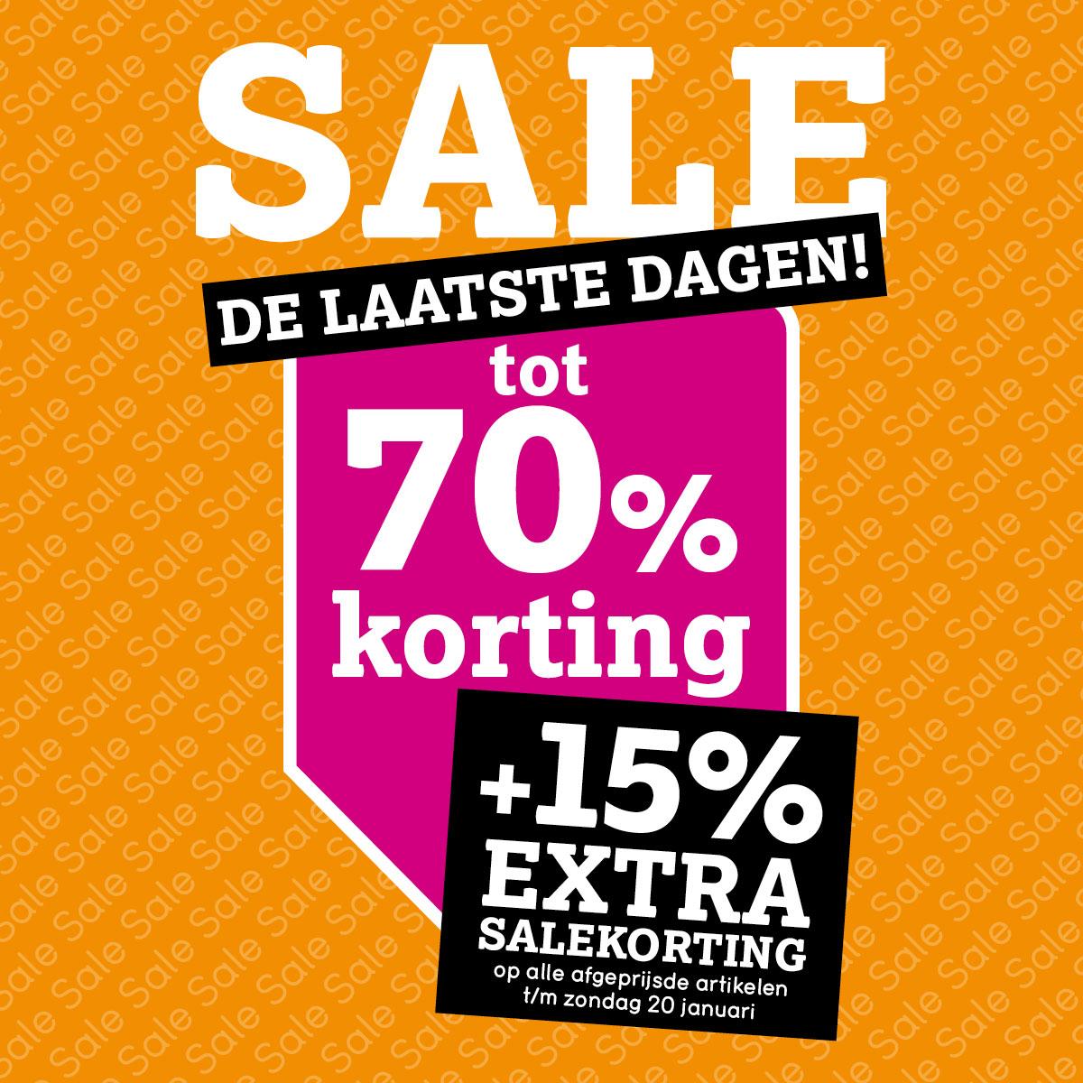 SALE tot -70% + 15% EXTRA @ Leen Bakker