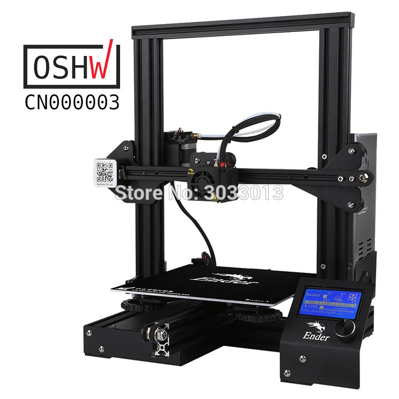 Nieuwste Ender-3 DIY Kit 3D-printer