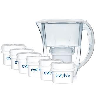 Aqua Optima Oria Waterfilterkan + 6 filters Promopack voor €11,99 @ fonQ