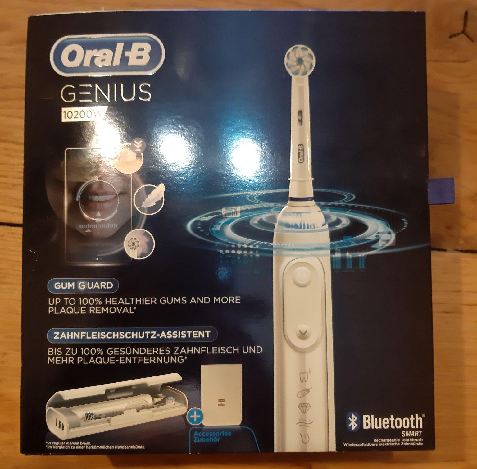 Oral b genius 10200w elektrische tandenborstel