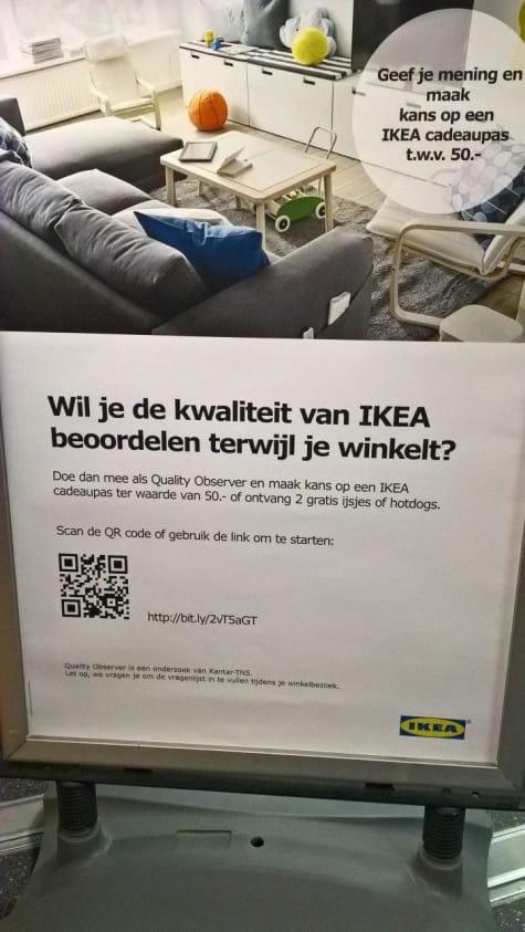 Gratis ijsjes of hotdogs @ IKEA