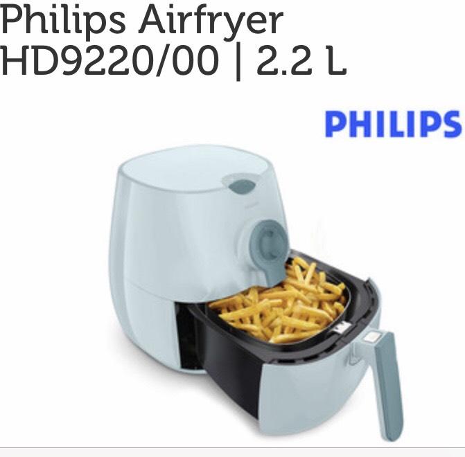 IBOOD PHILIPS AIRFRYER (2,2 L) HD9220/00