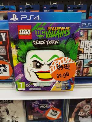 Ps4 lego dc super villains deluxe edition @intertoys