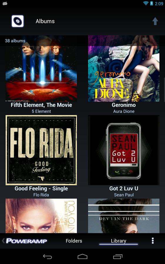 Poweramp Full Version  Musicplayer app voor € 1,49 @ Google Play