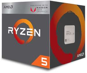 Ryzen 2400G met VEGA 11 en 8 Threads + Game voor 135 euro